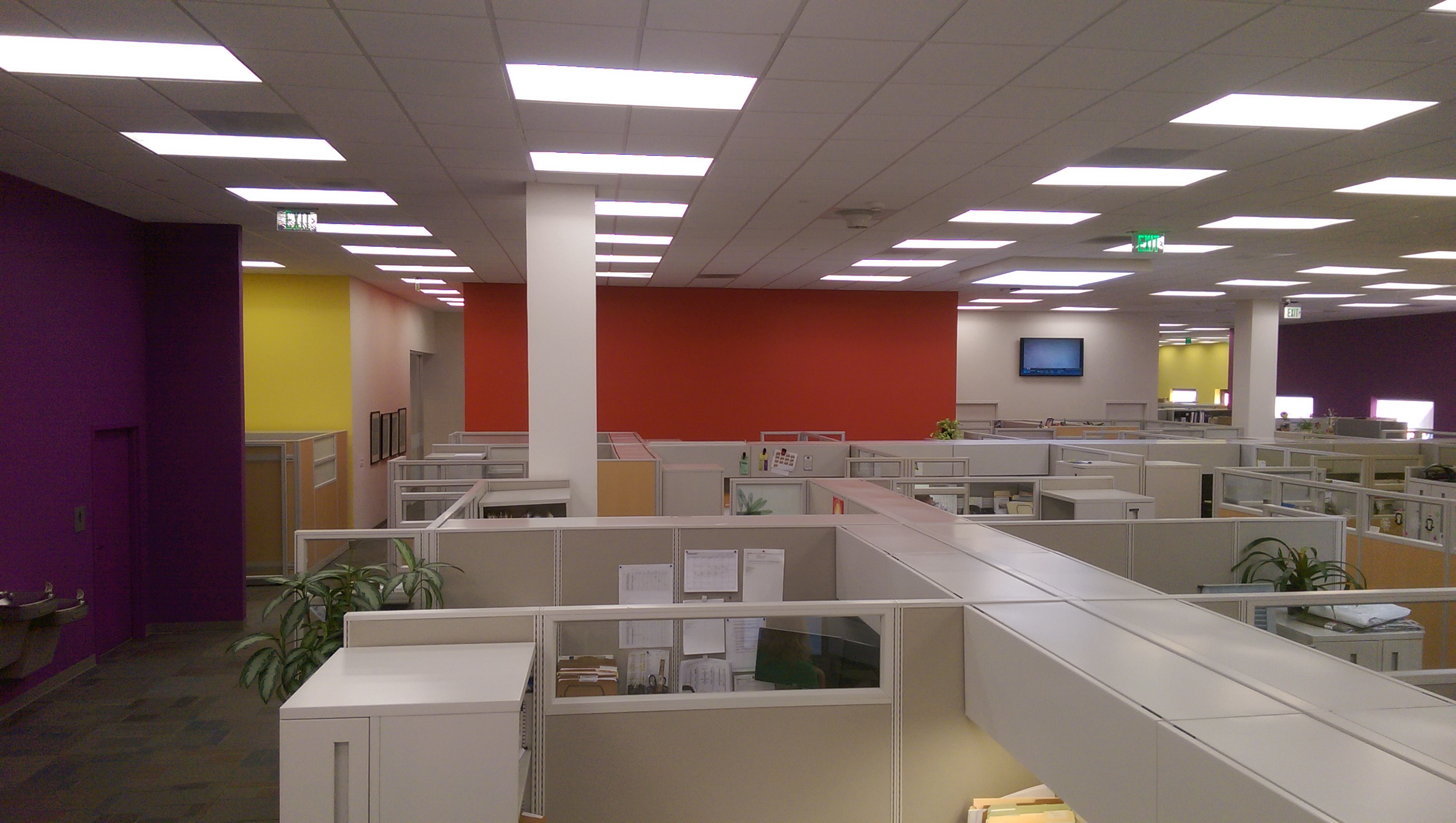Warehouse conversion to corporate offices...$900.000